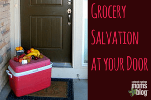 Grocery Salvation at your Door