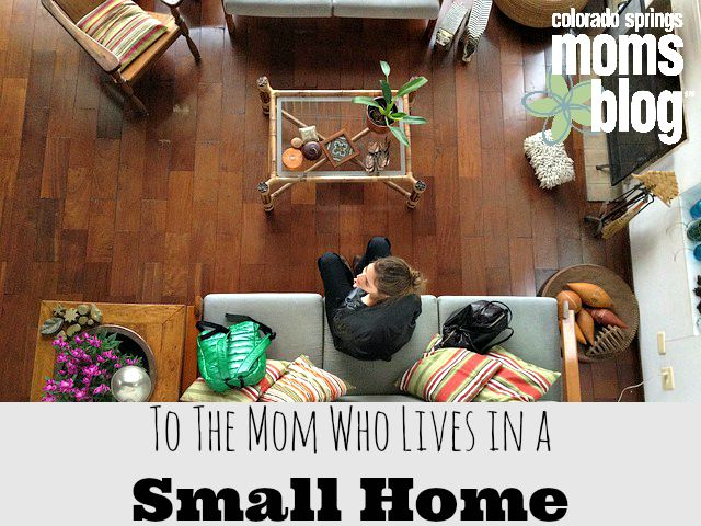 mom in small home