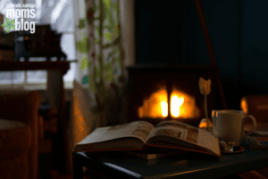 fireplace book