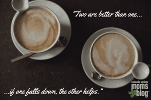 -Two are better than one...