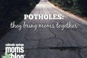 Potholes Bring Moms Together