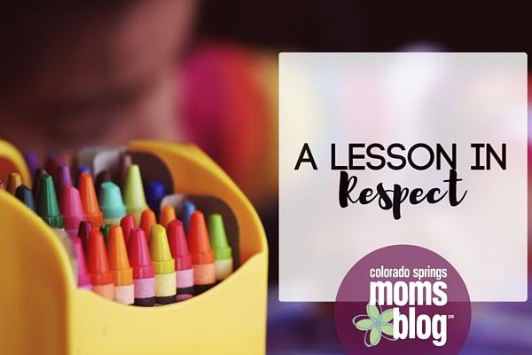 A Lesson In Respect