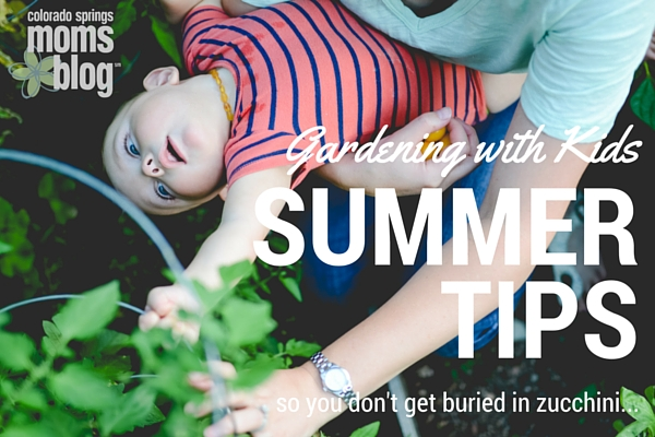 Gardening with Kids Summer