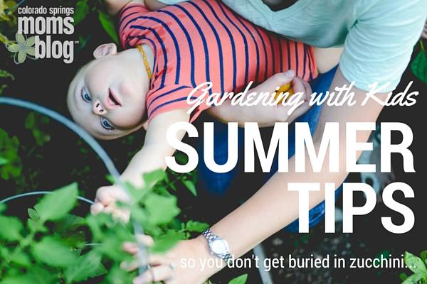 Gardening with Kids Summer