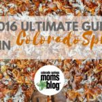 The 2016 Ultimate Guide to Fall in Colorado Springs