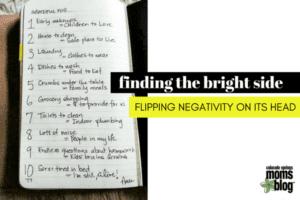 flipping negativity