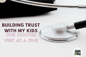 building trust with kids