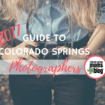 2017 Guide To Colorado Springs Photographers