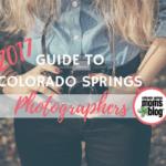 2017 Guide To Colorado Springs Photographers