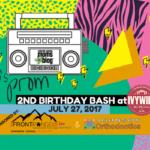 90's Prom Event Invitation {2nd Birthday Bash}
