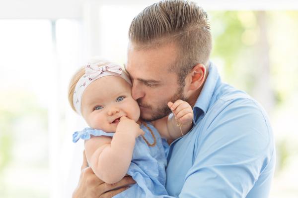 husband helped with breastfeeding