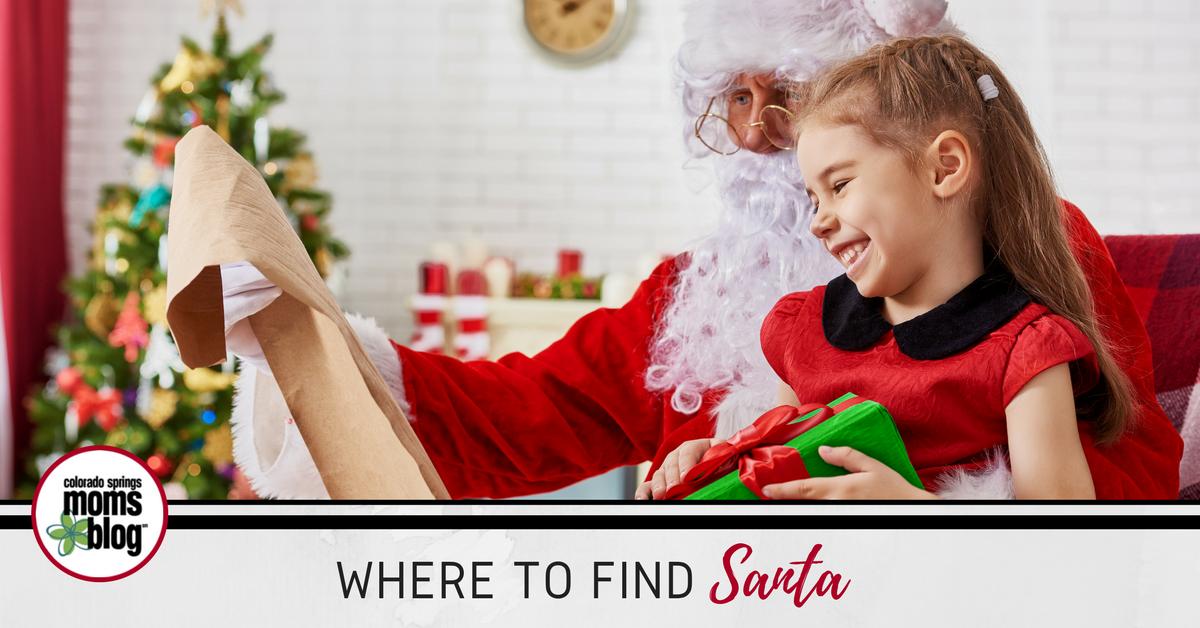 Where To Find Santa In Colorado Springs