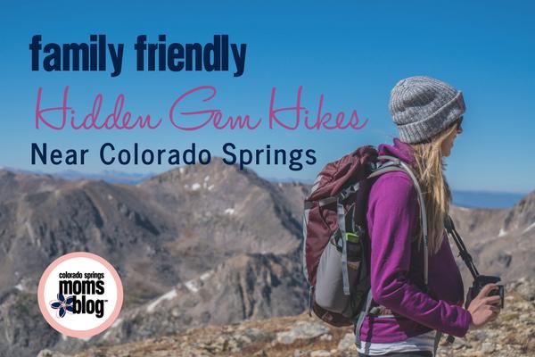Family Friendly Hikes near Colorado Springs