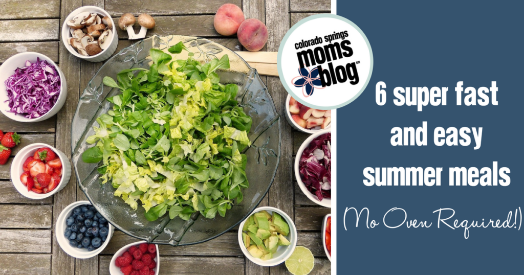 6 super fast and easy summer meals no oven required