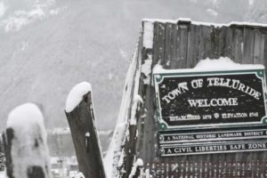 Telluride – welcome