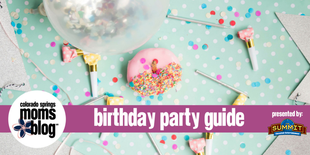The Colorado Springs Birthday Party Guide