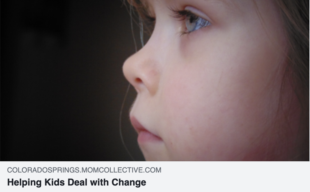 Helping Kids Deal With Change