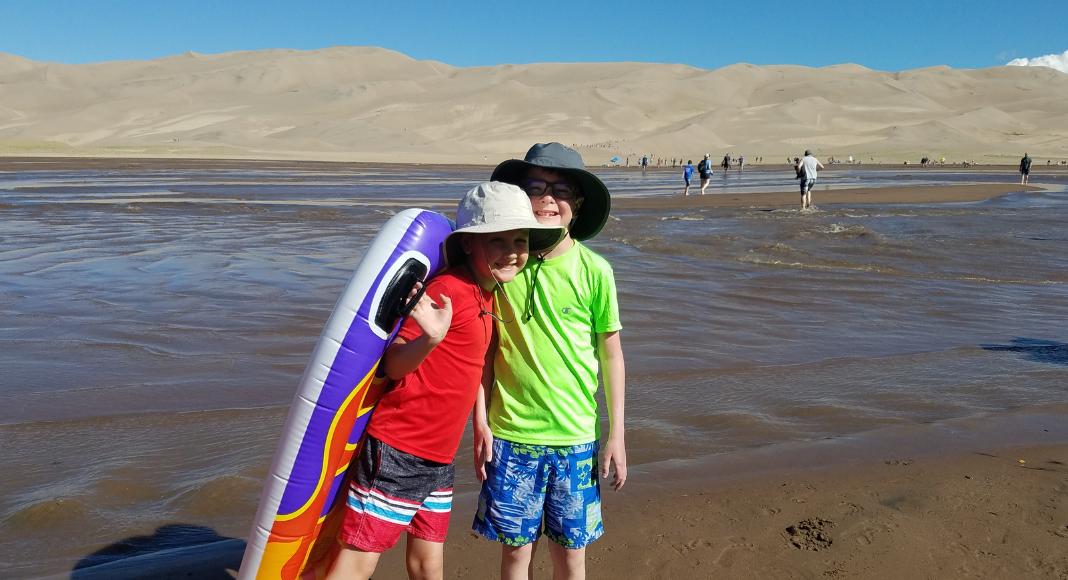 camping colorado sand dunes