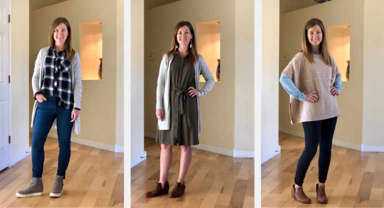 3 Fall Outfit Ideas For Cool Mornings and Warm Afternoons