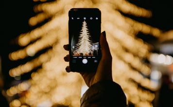 holiday lights FI