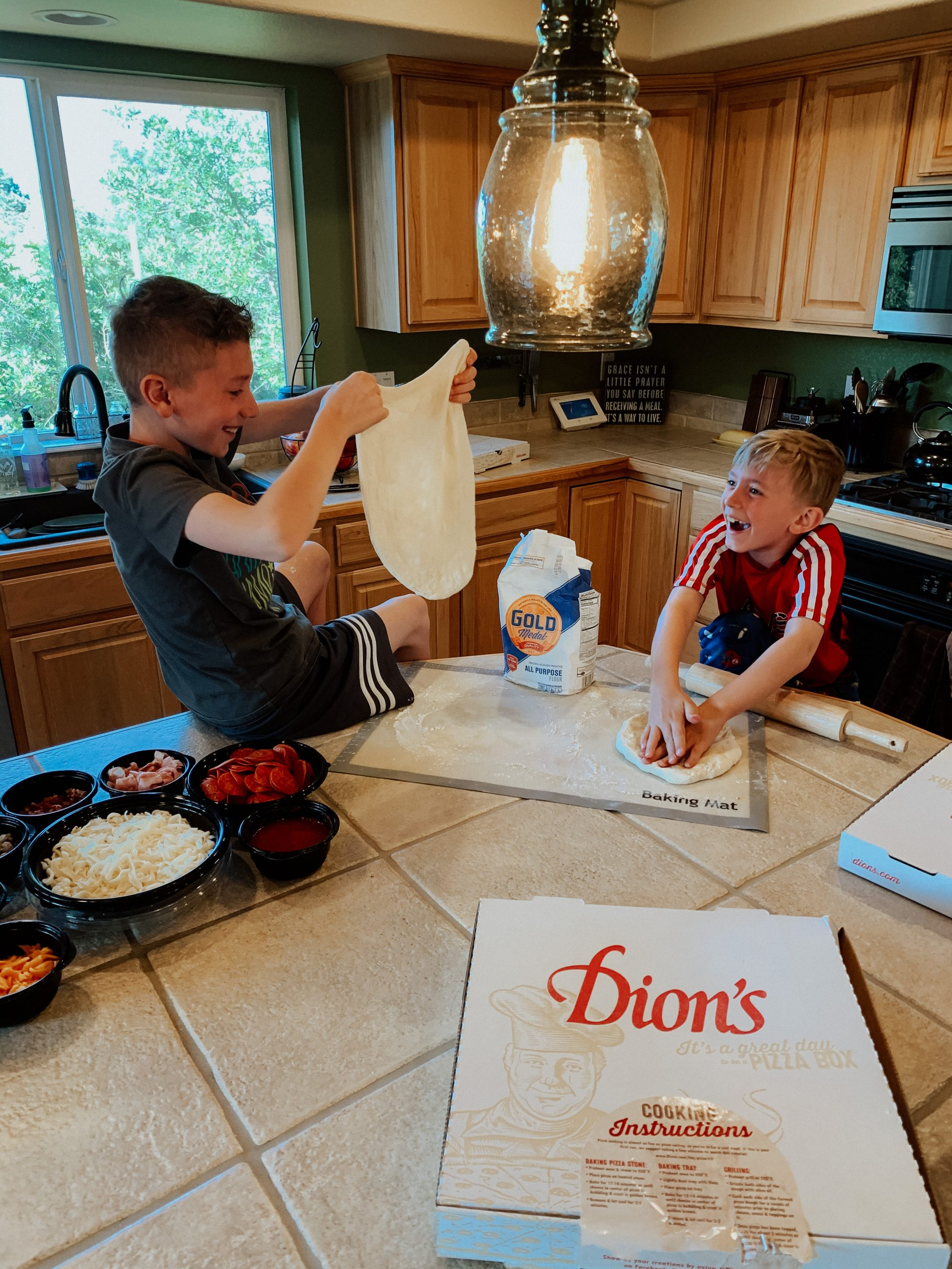 dion's pizza kits