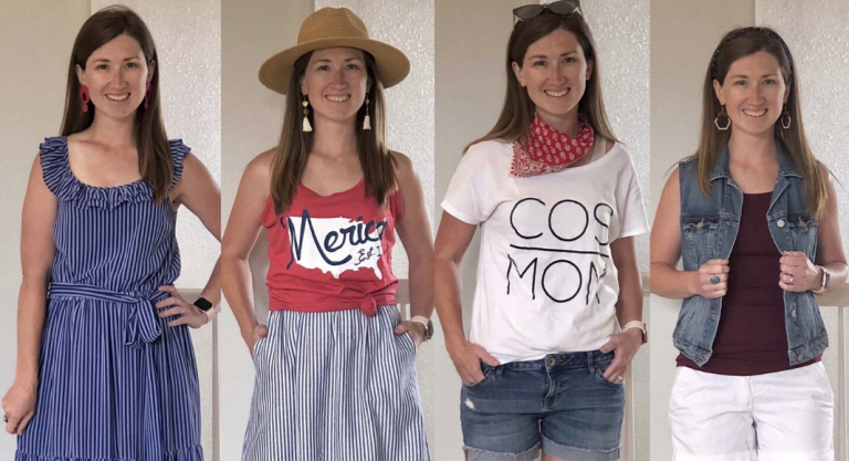 4 Ways to Elevate Your Red, White and Blue Outfits