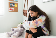 child with anxiety and depression