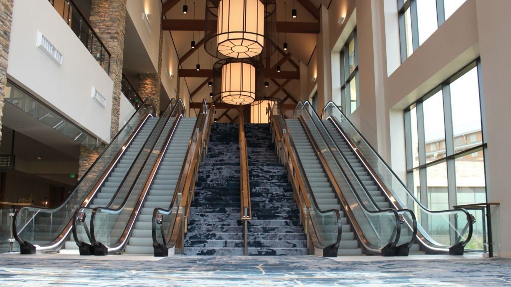 Gaylord Rockies Escalator