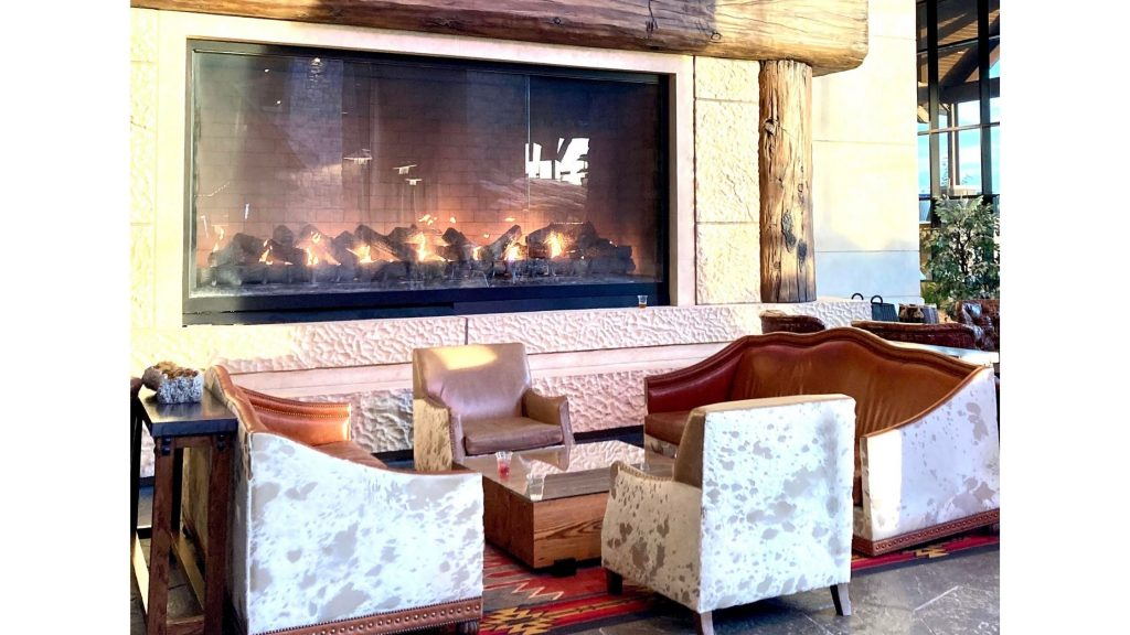 Gaylord Rockies Fireplace