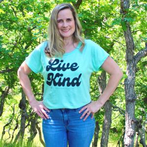 Live Kind Adult Shirt